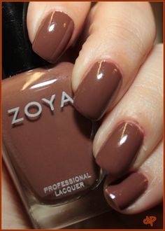 #zoya - dea | own this color, very flattering on many skin types, opaque in 2 coats #nailpolish