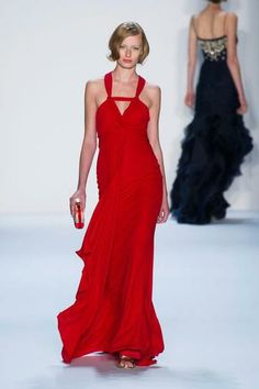 The Top Trends for Spring 2014   StyleCaster : Red Gowns