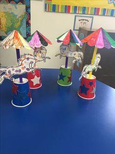 Circus Theme Crafts, Circus Crafts Preschool, Clown Crafts, Carnival Crafts, Toddler Crafts, Diy Crafts For Kids, Art For Kids, Arts And Crafts, Preschool Music