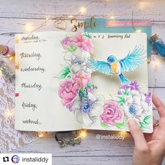 How to make a dutch door bullet journal layout Bullet Journal Junkies, Bullet Journal Ideas Pages, Bullet Journal Layout, Bullet Journal Inspiration, Bujo Inspiration, Simple Doodles, Floral Illustrations, Dutch Doors, Creations