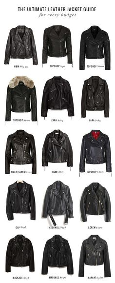 15 Leather Jackets a
