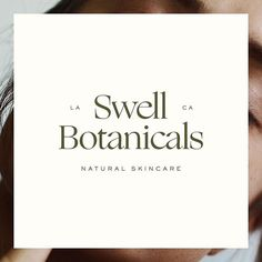 Brand design for Swell Botanicals by Wayfarer Design Studio// design, branding, brand, brand identity, logo, logos, graphic design, identity, natural, organic, toxin free, beauty, health, wellness, skin, packaging, label, skincare, illustration