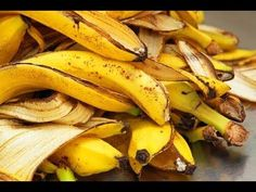 You Will Never Throw Away Banana Peels After Watching This - I Love Herbalism