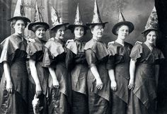 Witches in waiting.