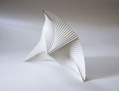 Paper sculpture by Richard Sweeney, paper sculptor in England