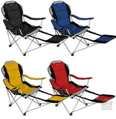 Camping Chairs With Footrest On Pinterest Camping Chairs