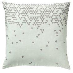 Baby Triangles tyyny, minttu ryhmässä Tekstiilit / Viltit & Koristetyynyt / Koristetyynyt @ ROOM21.fi (128715)