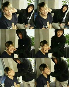 Double B aka the thing I miss so much😭😭 (wow, just looking at Hanbin pictures makes me miss him more. This is like rlly hitting me hard in my heart) Chanwoo Ikon, Kim Hanbin, Bobby, Winner Ikon, Koo Jun Hoe, Ikon Debut, Kim Ji Won, Double B, I Miss Him