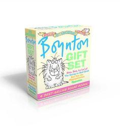 Boynton Gift Set: Special 30th Anniversary Edition!/The Going to Bed Book; Moo, Baa, La La La!; Opposites; But Not the Hippopotamus