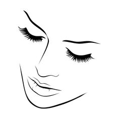 Height: 956 pixels, Width: 1096 pixels, Woman Face Line Drawing get free wallpapers for your desktop, FileType: image jpg. Pencil Art Drawings, Art Drawings Sketches, Easy Drawings, Photography Tattoo, Woman Photography, Illusion Kunst, Silhouette Face, Silhouette Tattoos, Face Art