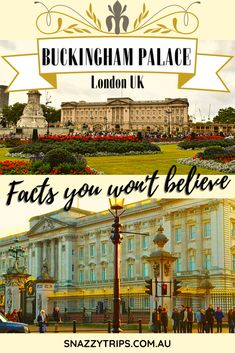 10 Facts About Buckingham Palace, plus tips for visiting. #visitbuckinghampalace #travellondon #londonblog Travel Route, Travel Info, Travel Guides, Travel Tips, European Destination, European Travel, Poland Travel, Things To Do In London, Famous Places