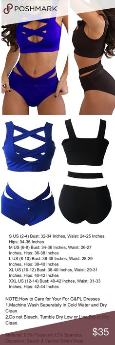 🚨Just Added Green🚨HIGH WAISTED BIKINI Blue, black or hunter green if you want a different color or size than is listed comment and I'll try and order more :-).                                                                                             👙Bundle and Save- 2 items 20% off, 3 items 25% off and 4 items 30% off! Ask me to change my seller discount or make me and offer 👙 Swim Bikinis