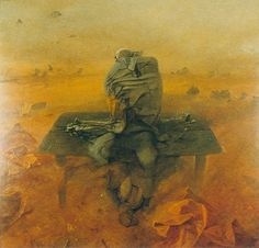Zdzisław Beksiński. Obrazy. Lata 1984-1989