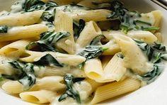 Salsa de espinaca para pasta