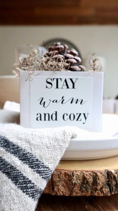 My Sweet Savannah: DIY stay warm and cozy pinecone fire starters