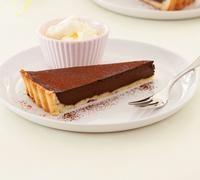 Chocolate tart - Recipes - New Zealand Woman's Weekly