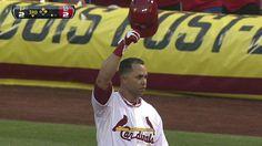 6/29/2012: Carlos Beltrán's (St. Louis Cardinals) 2,000th MLB Career Hit @ St. Louis Cardinals.