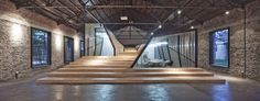 terraced steps. AU Office and Exhibition Space / Archi Union Architects Inc