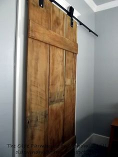 Lowe's Sliding Barn Doors | DIY Project Parade – view and share DIY