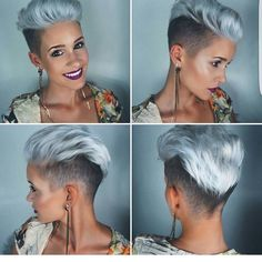 "4,438 Likes, 66 Comments - Pixie Cut | Short Hair Blogger (@nothingbutpixies) on Instagram: ""@prettyfacesxo"""