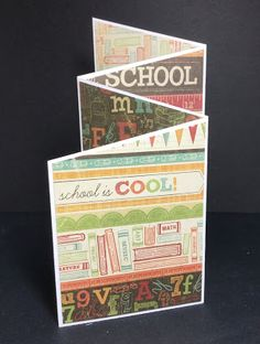 Early Morning Crafts: Back to School We R Memory Keepers, Coloured Pencils, Early Morning, Cardmaking, Stamping, Back To School, Card Stock, Paper, Projects