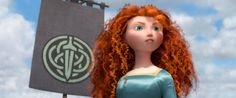 """I am Merida, first born of Clan DunBroch, and I'll be shooting for my own hand!"" #Brave"