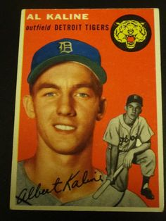 Al Kaline, Mr. Tiger, #6, member of the 3000 Hit Club, and a savior of Detroit's 1968 World Series victory. This card fetched a healthy amount in a 2010 auction.