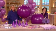 Darcy's Purple Party Ideas - The Martha Stewart Show