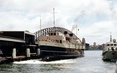 Sydney Ferries, The Old Days, View Image, Botanical Gardens, Old Photos, New Day, Black Backgrounds, Past, The Neighbourhood