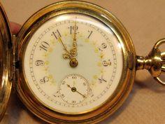 Antique Early American Period Ladies Elgin Pocket Watch 1909