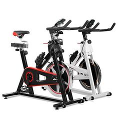 JLL® IC300 Indoor Exercise Bike 2016, Cardio Workout, 18KG Flywheel Smooth Cycling, Adjustable Handlebars & Seat, Heart Rate Sensors & On Board Computer reads Speed, Distance, Time, Calories + Pulse