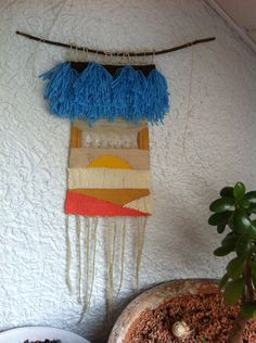 Woven Tapestry Wallhanging