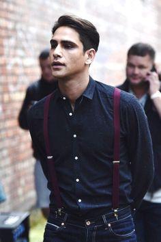 Luke Pasqualino definition of tall, dark and handsome!