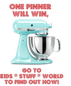 It's a Pinterest Appreciation Giveaway! My way of saying Thank You to the 65,000 of you who think enough of me to follow me here. Head on over to my website, Kids Stuff World to find out how you can enter. Good Luck!!