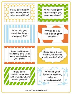 These dinner discussion questions can help you put a fun spark into your dinner conversations. No more boring silence. These prompts will promote dialog.