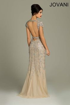 Jovani 88583 // art deco great gatsby wedding dress ...dream dress.