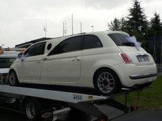 Galleria fotografica Fiat 500 limousine nuova e vecchia