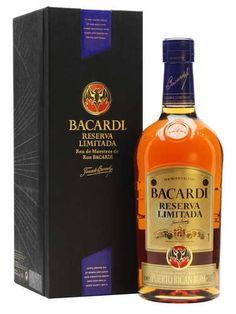 Bacardi Reserva Limitada Rum : The Whisky Exchange Liquor Bottles, Drink Bottles, Whiskey Bottle, Vodka Bottle, White Oak Barrels, Alcoholic Drinks, Beverages, Bacardi Rum, Cookies Policy