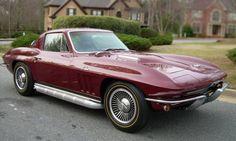 1966 Corvette | Milano Maroon 1966 Corvette Coupe 427/425