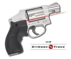 LG-105 Crimson Trace Lasergrip for Smith & Wesson pistols. A Dependable Quality Laser Sight for your S&W hand gun. Get your today at LaserGripDiscounters.com