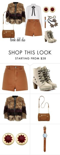 """look del dia"" by aliciagorostiza on Polyvore featuring moda, River Island, New Directions, House of Harlow 1960 y Natures Jewelry"