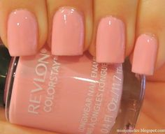 Revlon Colorstay in Caf Pink.