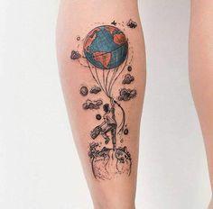 Als Melhores Tattoos de Pet Tattoos And Body Art famous tattoo artists Bild Tattoos, Leg Tattoos, Body Art Tattoos, Sleeve Tattoos, Tatoos, Unique Tattoos, Beautiful Tattoos, Small Tattoos, Cool Tattoos