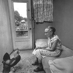 Arthur Tress what are they thinking   funny whimsical surreal vintage real life art photo   mexican stand off in the olympic games staring competition they,ve been at it for five days now but vera was not one for giving up and cocky alf never ever lost at a game of chicken