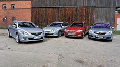 Używane kombi z dieslem dla rodziny: Ford Mondeo kontra Mazda 6, Opel Vectra i Renault Laguna