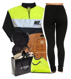 twinning #2 by yani122 on Polyvore featuring polyvore fashion style NIKE MCM Chanel clothing