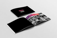 Nice Portfolio Brochure Template  CreativeWork247 - Fonts, Graphics, Themes...