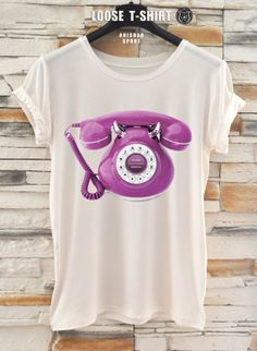 fashion phone tshirt/white/black tshirt /   by ANISHARsport, $18.90