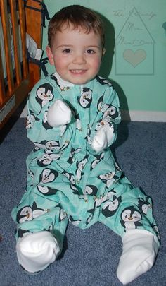 This Just In...Sleeping Baby's Flying Squirrel Cutest Pajamas Ever + GIVEAWAY! Ends 2/16