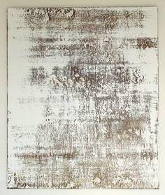 "Saatchi Art Artist Christian Hetzel; Painting, ""white brown texture"" #art"